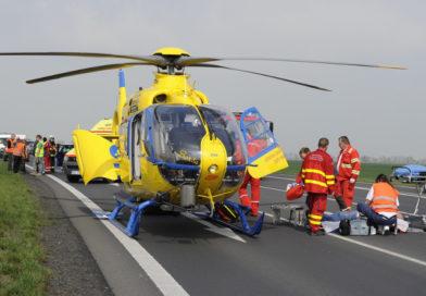Spolupráce IZS u zásahu vrtulníku LZS [video]